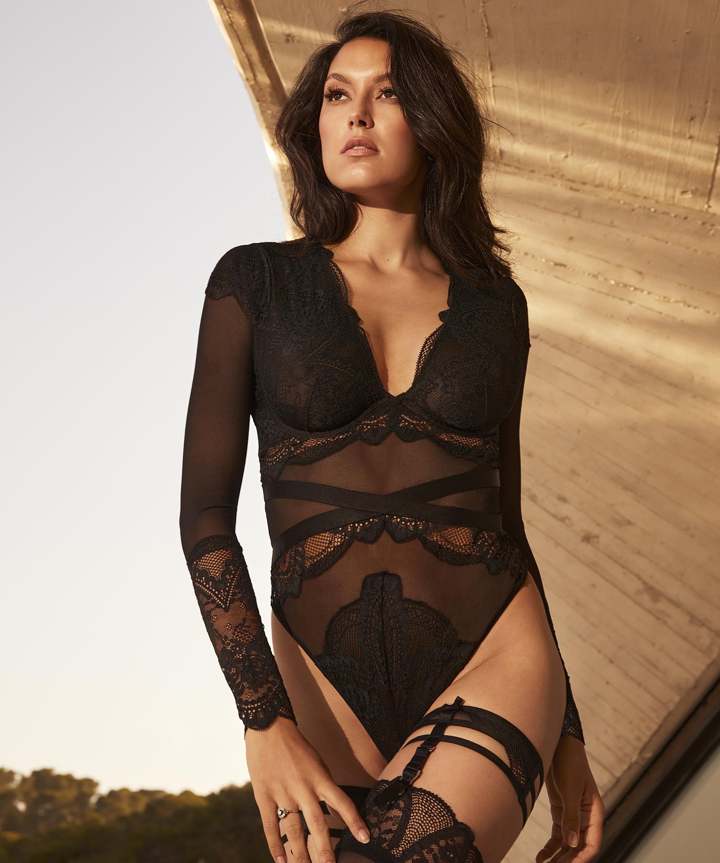 Body Lana Rebecca Mir, Noir, main