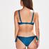 Slip de bikini brésilien Sunset Dream, Bleu