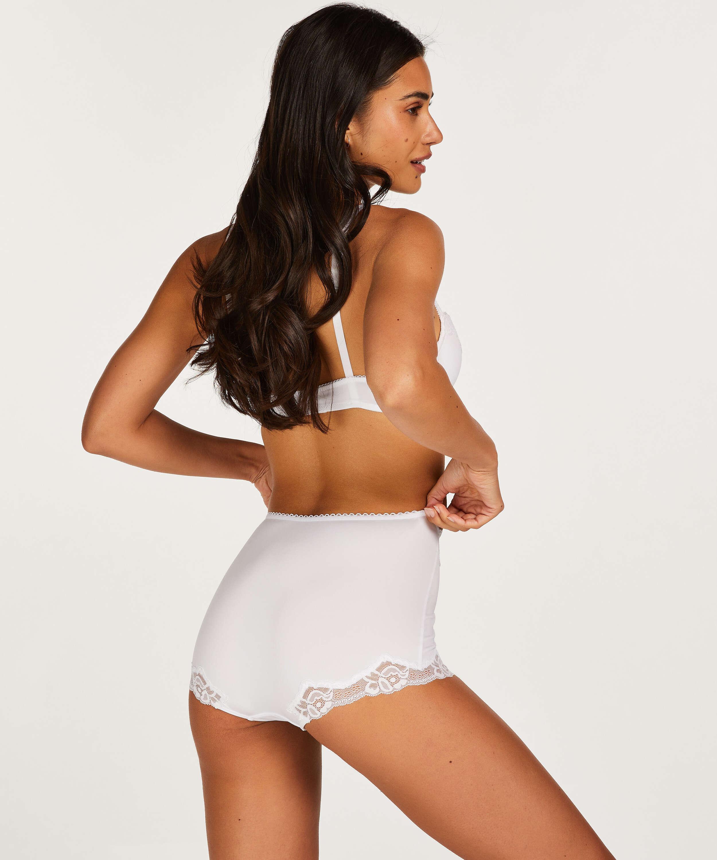Maxi culotte rio Secret lace, Blanc, main