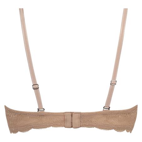 Soutien-gorge à armatures préformé sans bretelles Angie, Beige