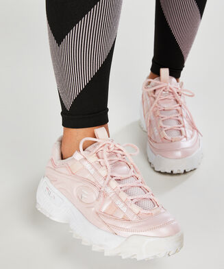 Chaussures HKMX x Fila Disruptor 2, Rose
