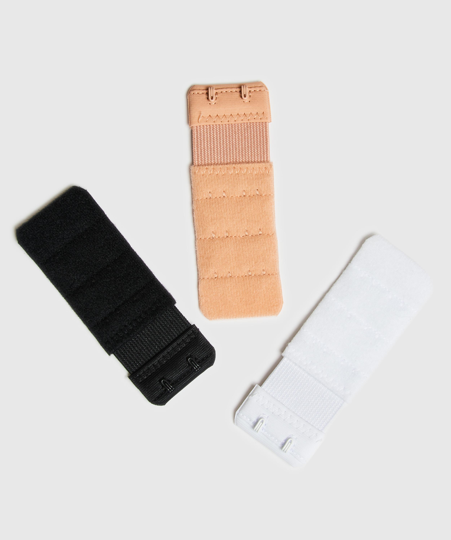 Rallonge de soutien-gorge 2 crochets, Blanc, main
