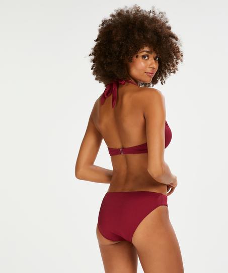 Haut de bikini à armatures préformé Golden Rings, Rouge