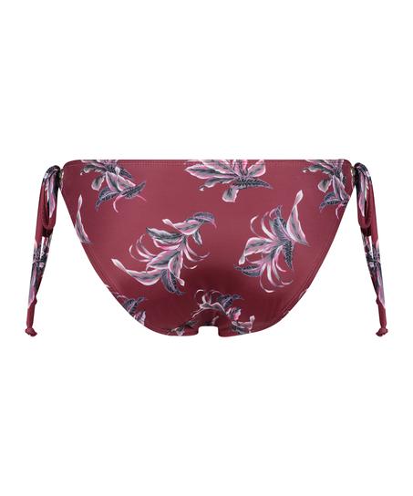 Slip de bikini Tropic Glam, Rouge