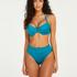 Haut de bikini à armatures non préformé Celine, Bleu