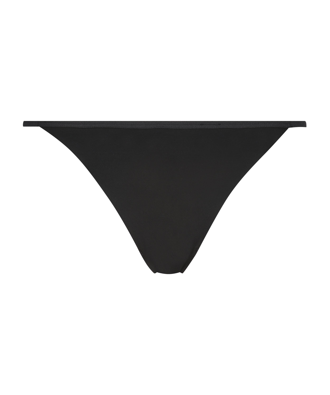 String en T Invisible micro, Noir, main
