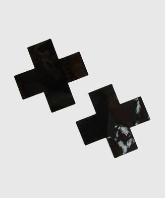 Cache-tétons Private, Noir