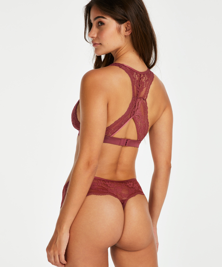 Boxer string Darla, Rouge