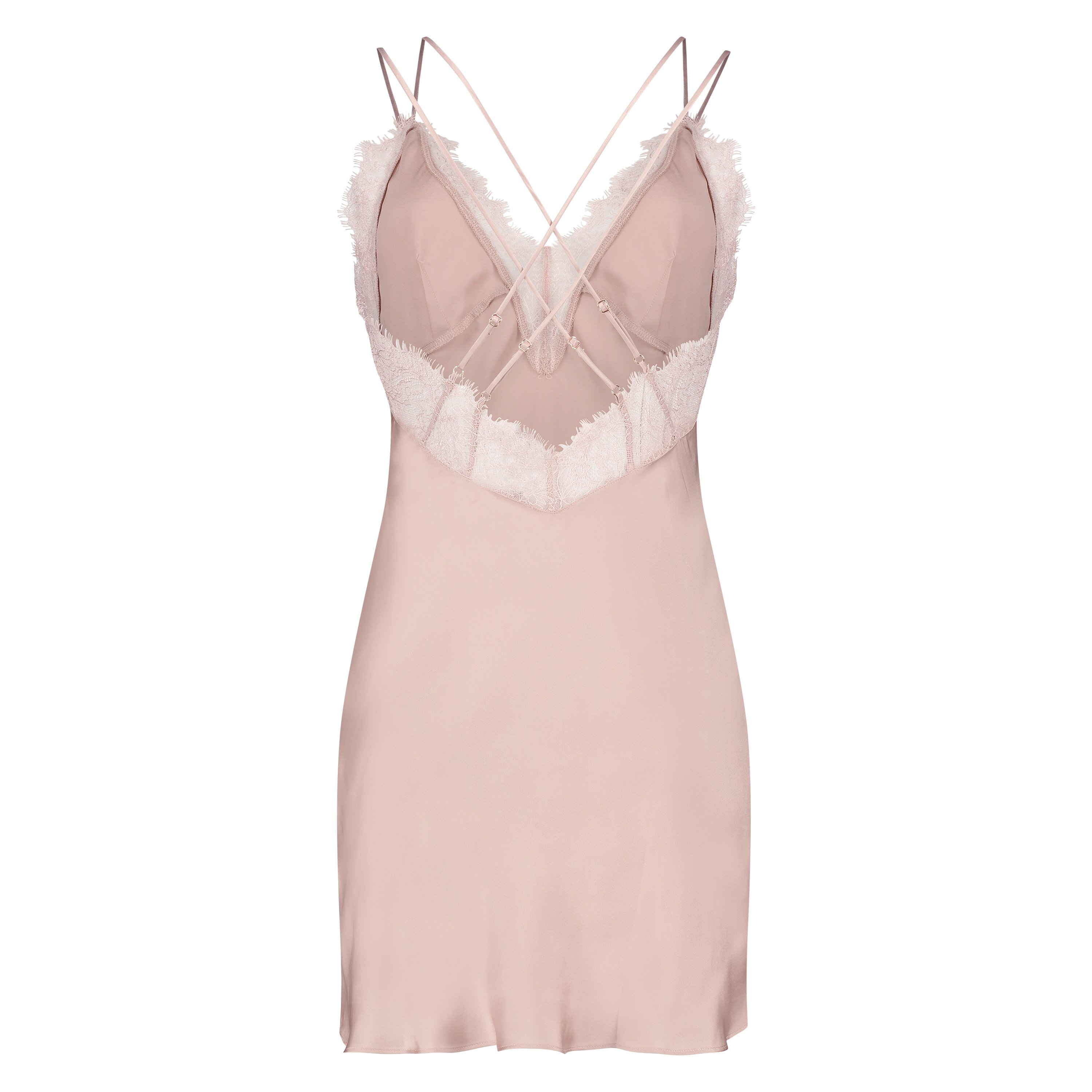 Nuisette Satin Lily, Rose, main