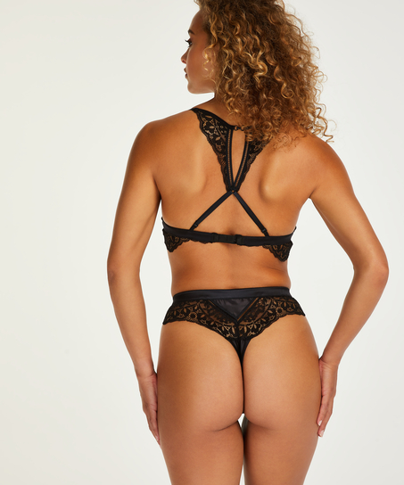 String taille haute Niany, Noir