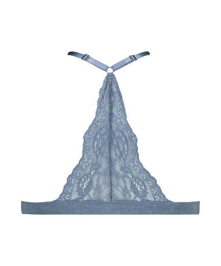 Brassière en triangle préformée Coton Chloe , Bleu