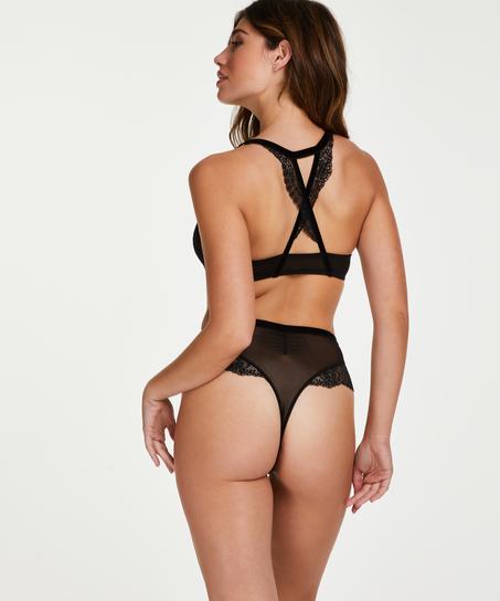 Soutien-gorge à armatures préformé push-up Raine Rebecca Mir, Noir