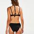 Haut de bikini à armatures préformé Scallop Glam, Noir