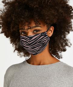 Masque Coton, marron