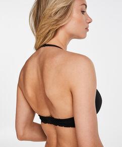 Soutien-gorge à armatures préformé push-up Angie, Noir