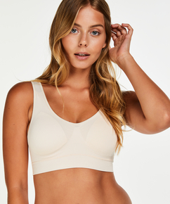 Top basic sans coutures, Rose