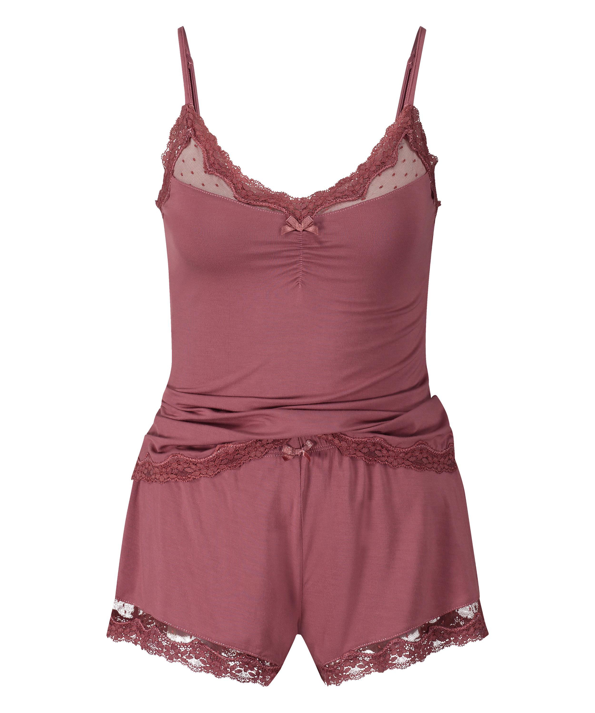 Pyjama, Rose, main