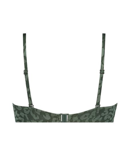 Haut de maillot de bain push-up rembourré à armatures Tonal Leo Taille A - E, Vert
