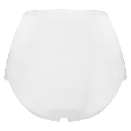 Superslip Lace Maxi coton, Blanc