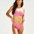 Bas de bikini rio échancré Vintage HKM x NA-KD, Rose