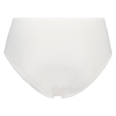 Slip taille haute Diva, Blanc