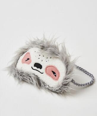 Masque de sommeil Paresseux, Gris
