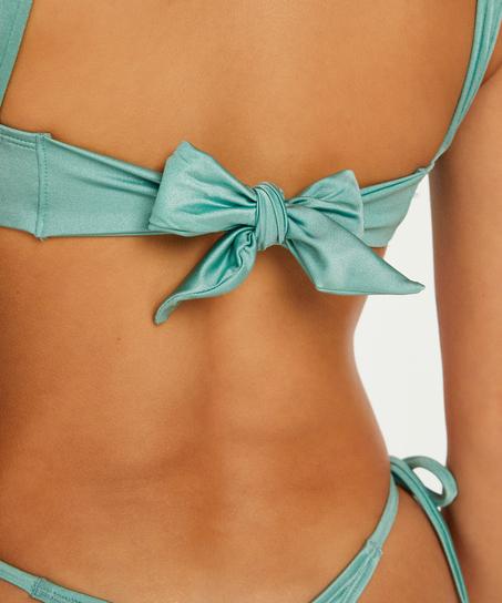 Haut de bikini Triangle SoCal, Vert