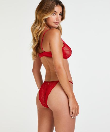 Slip brésilien Isabelle, Rouge