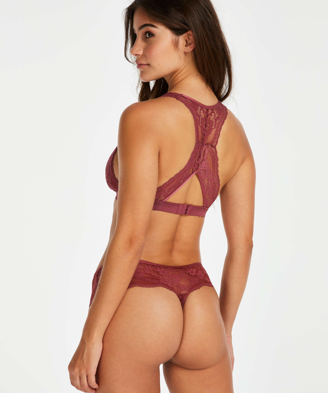 Boxer string Darla, Rouge, main