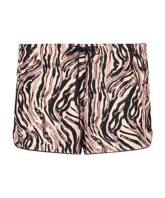 Short de pijama, Beige