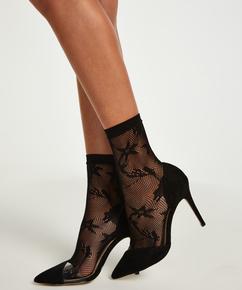 1 paire de chaussettes Fashion, Noir