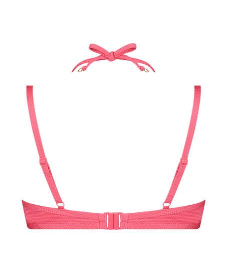 Haut de bikini à armatures préformé Ruffle Dreams, Rose