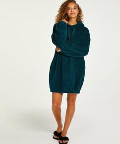 Robe snuggle polaire femme , Bleu