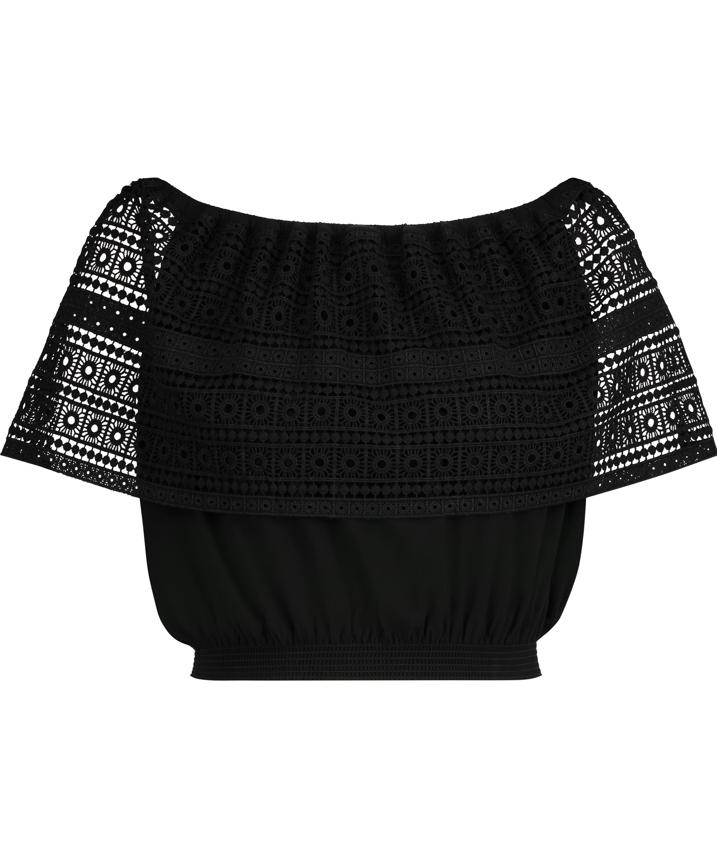 Haut Crochet, Noir, main