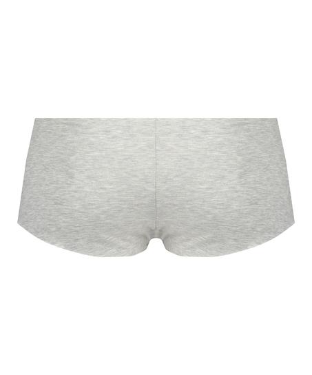 Boxer invisible en coton, Gris