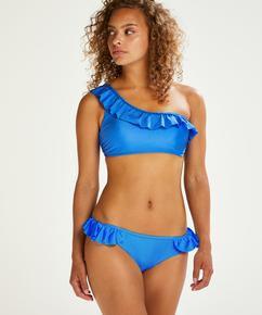 Haut de bikini Croptop Suze, Bleu