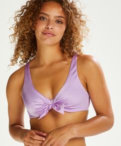 Haut de bikini préformé Luxe Shine, Violet