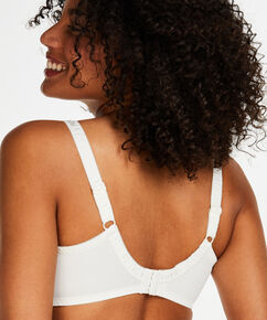 Soutien-gorge à armatures non-préformé Diva, Blanc