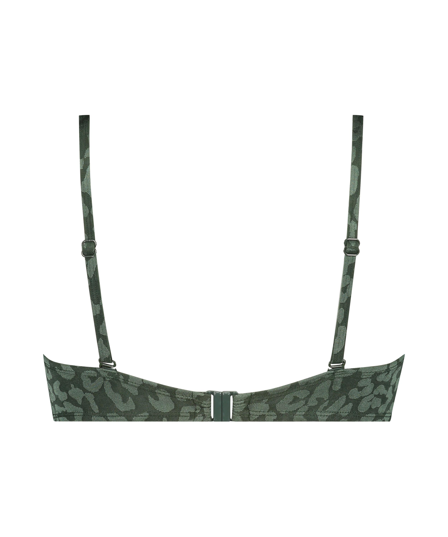 Haut de bikini à armatures préformé Tonal Leo Taille E +, Vert, main