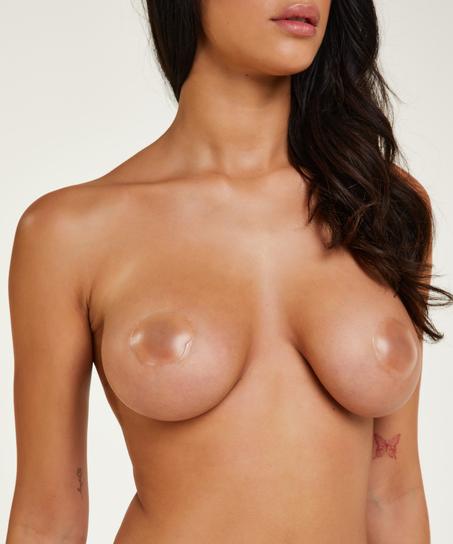 Silicon nipple covers, Blanc