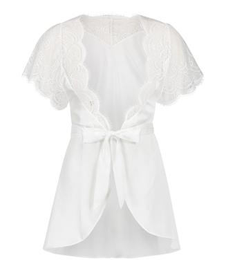 Kimono Cap Sleeve, Blanc