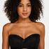 Soutien-gorge à armatures préformé sans bretelles Maya, Noir