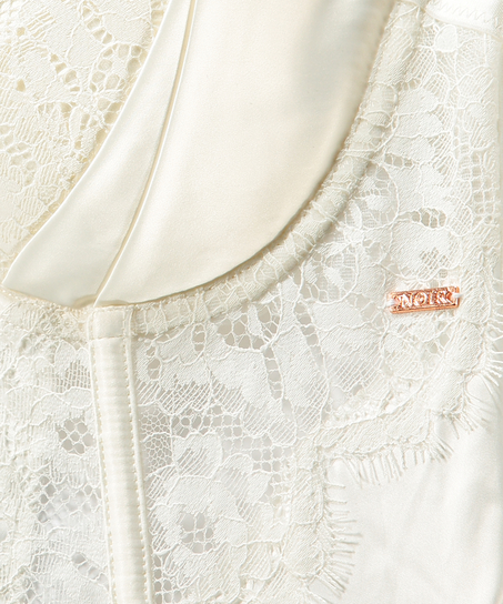 Bustier Hannako, Blanc