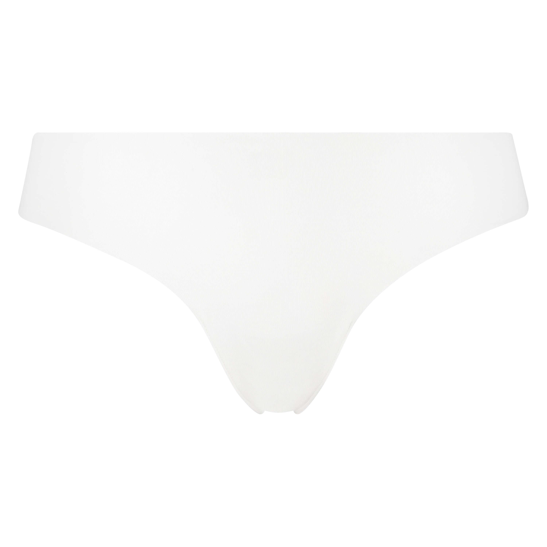 String invisible en coton, Blanc, main