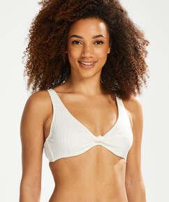Haut de bikini Emily, Blanc