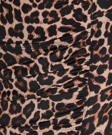 Maillot de bain Leopard, Beige