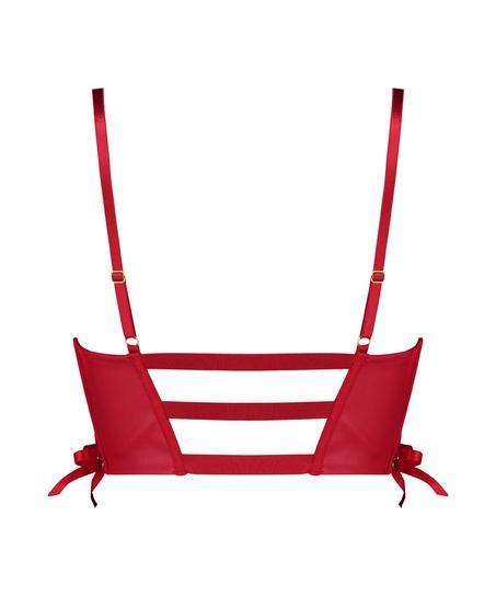 Soutien-gorge à armatures préformé push-up Manu, Rouge
