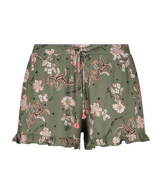 Short de pyjama Jersey, Vert