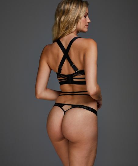 Soutien-gorge à armatures non-rembourré Venus, Noir