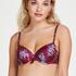 Haut de bikini à armatures préformé Tropic glam, Rouge